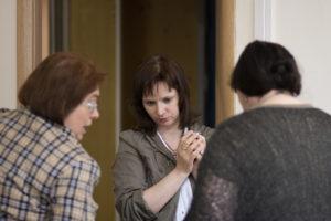 Три девицы под окном (рабочая группа на совещании)